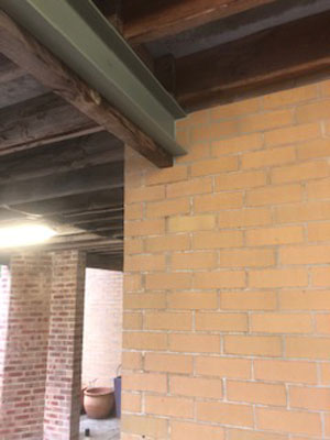 Adding Steel Support To Existing Timber Beam